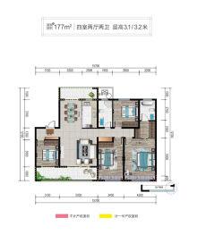 清河·熙华园户型图