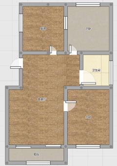 《明珠无虚假》市中心南北通透两室精装修电梯房房主送储藏室急售