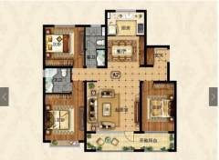 (圣城街道)枫华丽园3室2厅2卫147m²毛坯房