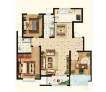 (洛城街道)学府东郡3室2厅2卫138m²毛坯房