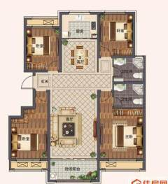德潤綠城紫桂園154平超值好房更名貸款