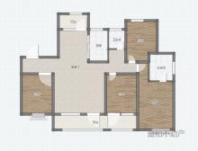 《盛和无虚假》中南花城大四室,带车位储藏室,最好楼层
