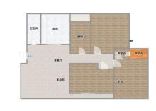 《明珠无虚假》东城多层稀缺楼层二楼大四室,带车库
