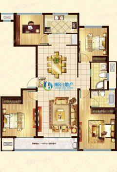 (洛城街道)承接房屋买卖锦绣东城4室2厅2卫157m²精装修