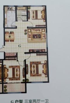 (圣城街道)弥河玉城3室2厅1卫109m²精装修
