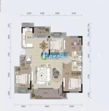 (顺合心选)恒信绿城春风江南3室2厅2卫142m²毛坯房