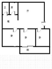 苍生公园南邻中阳春蕾组团大三室送车库送阁楼