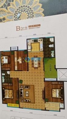 (顺合心选)凤华百丽澜庭4室2厅2卫159m²毛坯房