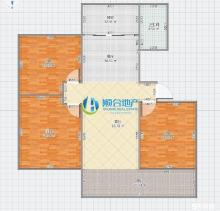 (顺合心选)德润绿城海棠园3室2厅2卫145m²毛坯房