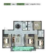 鲁清嘉苑建桥学 区房性价比超高的房子148平4室116万