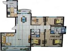 晨鸣威尼斯小镇均价4700一平的大4室208平100万
